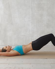 Ab Vacuum in Hip Bridge