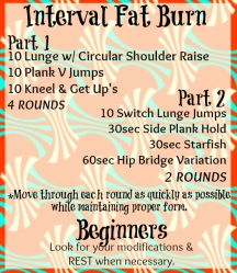 Interval fat Burn Printable-final