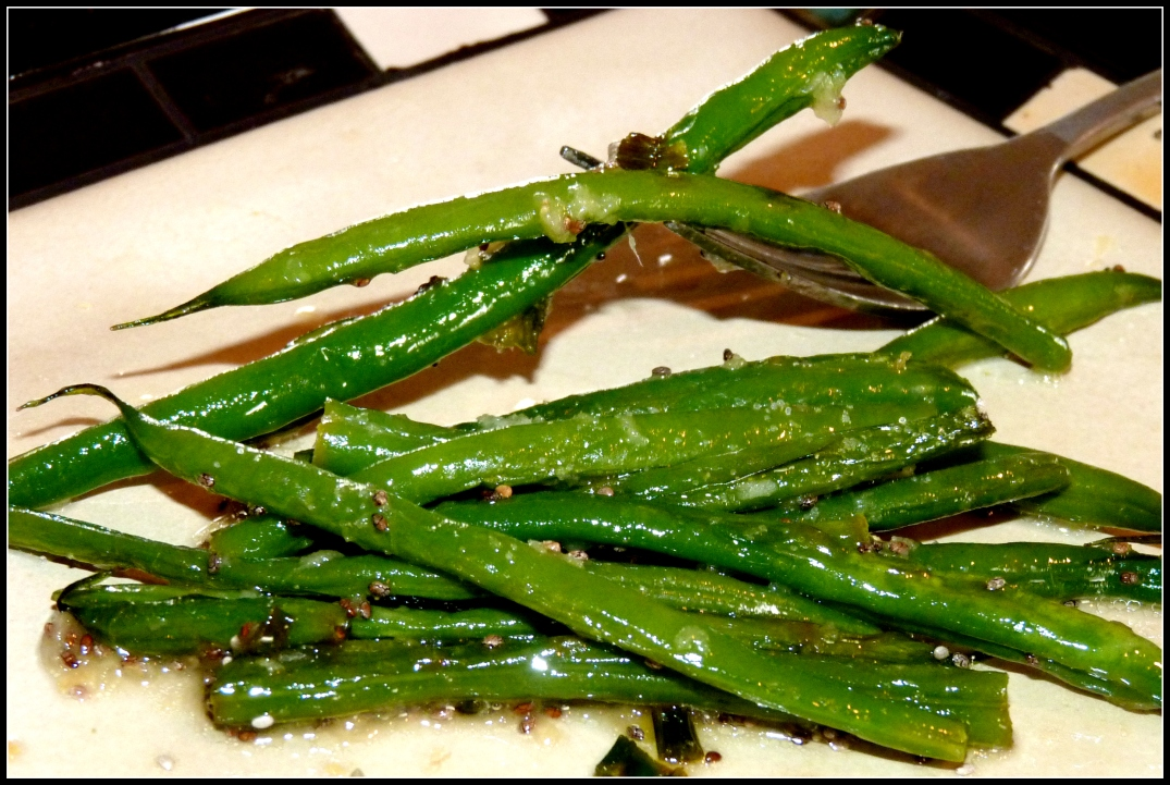 Lemon Ginger French Green Beans