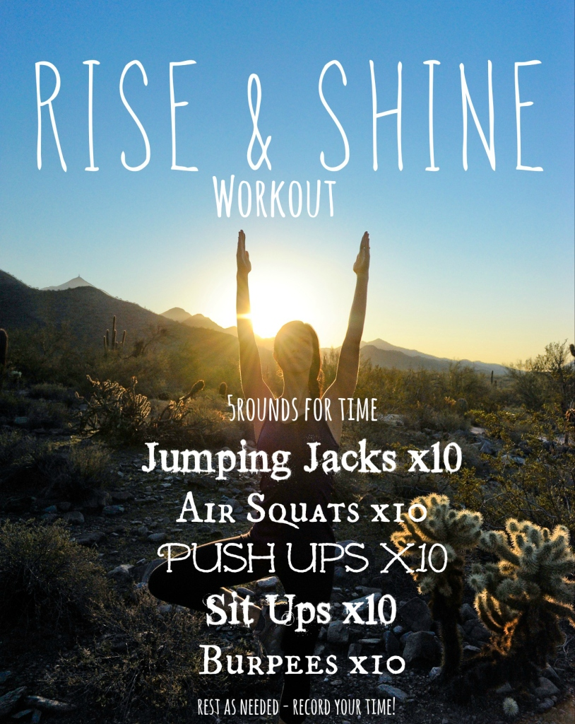 Rise&Shine Workout