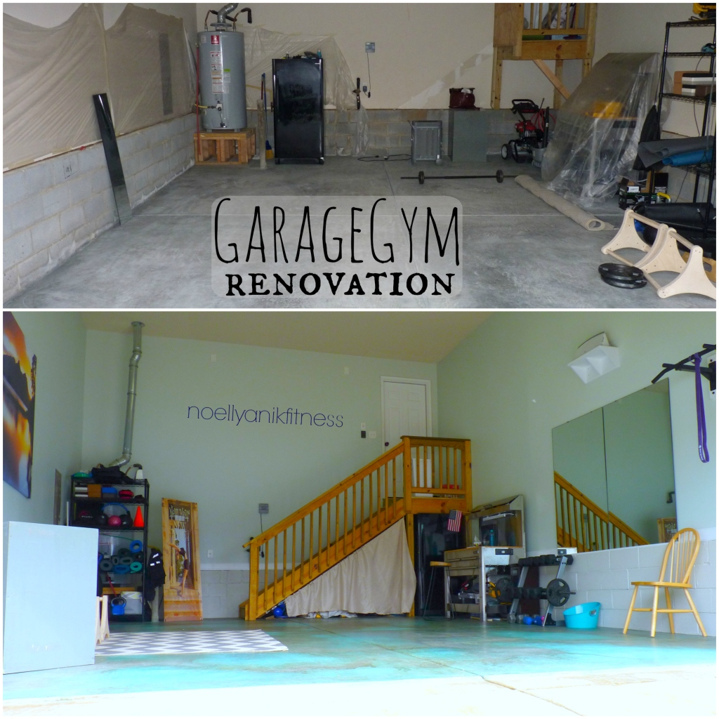 Garage gym renovation noellyanikfitness